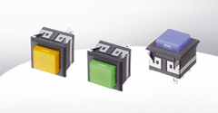 RH Super Miniature Lighted Pushbutton Switch